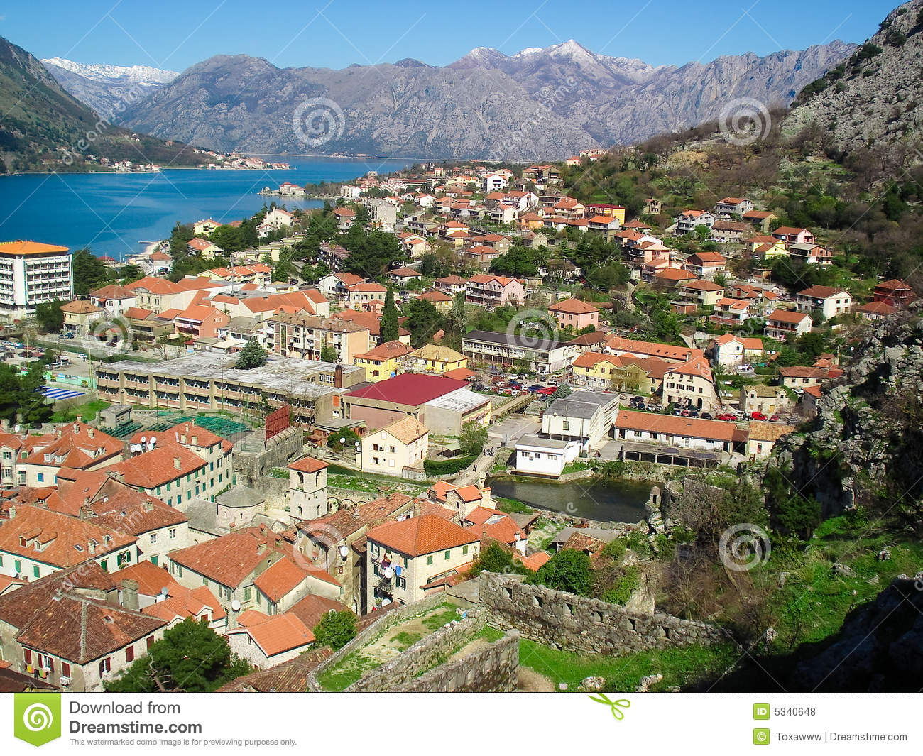 Kotor royalty free stock photos image 5340648 for Hotel design kotor