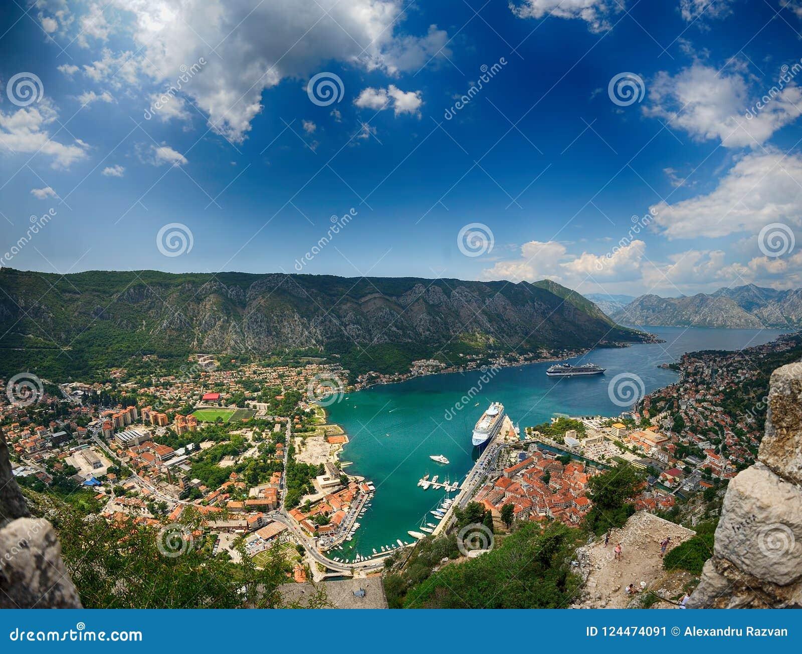 Kotor montenegro залива