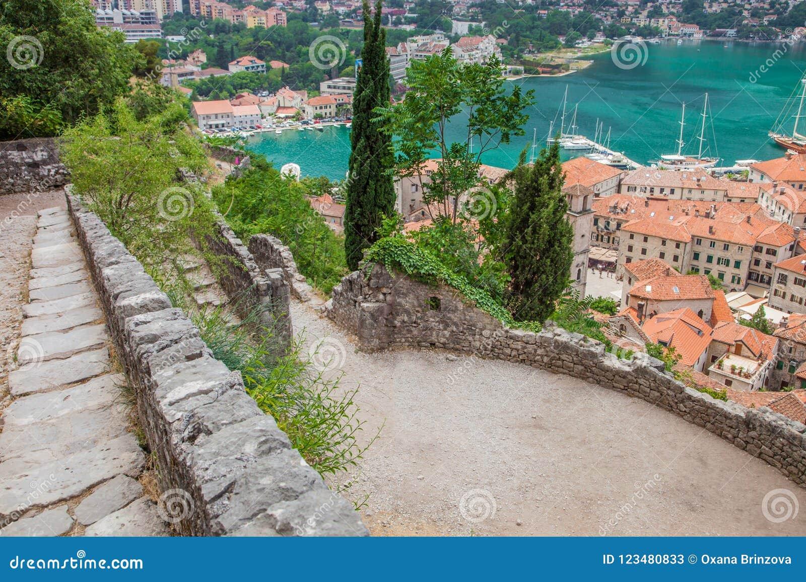 Kotor w pięknym letnim dniu, Montenegro
