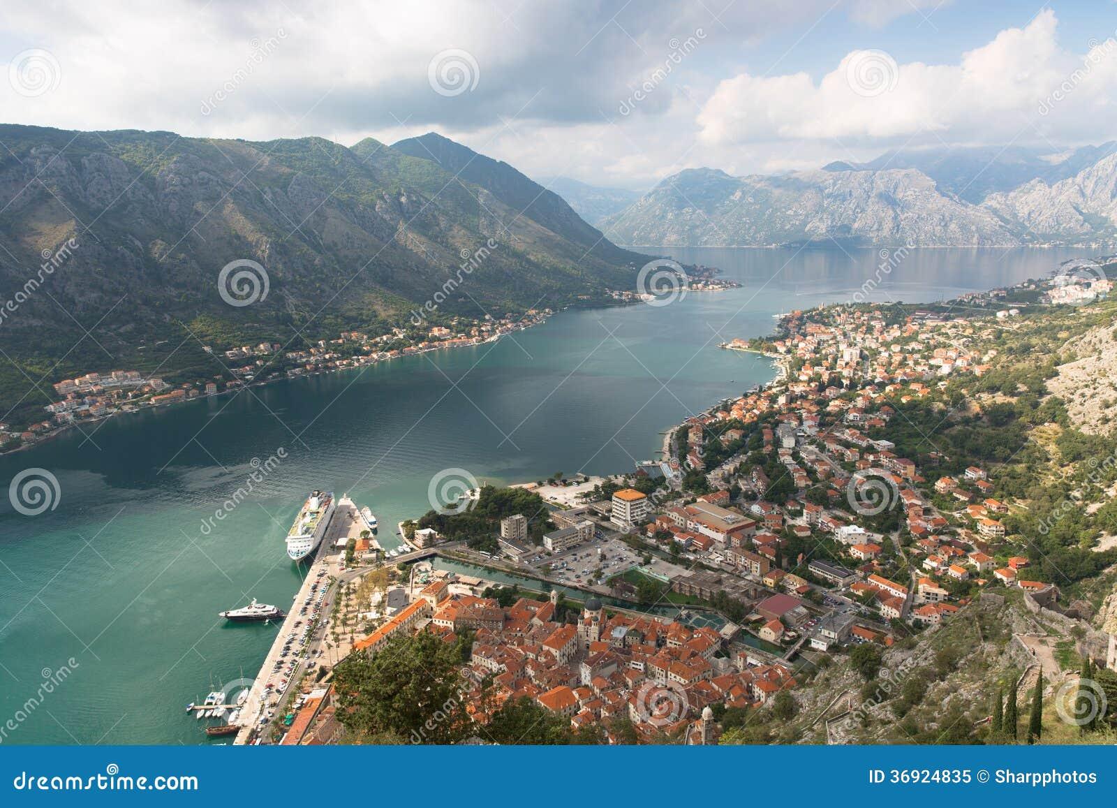 Kotor zatoka Montenegro