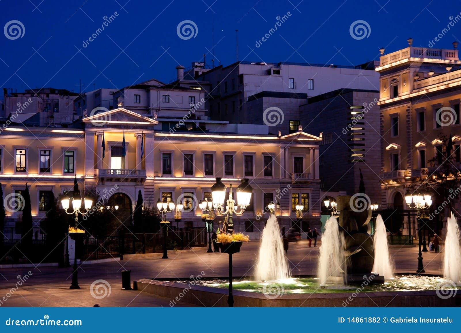 Kotzia Square and Athens Cityhall