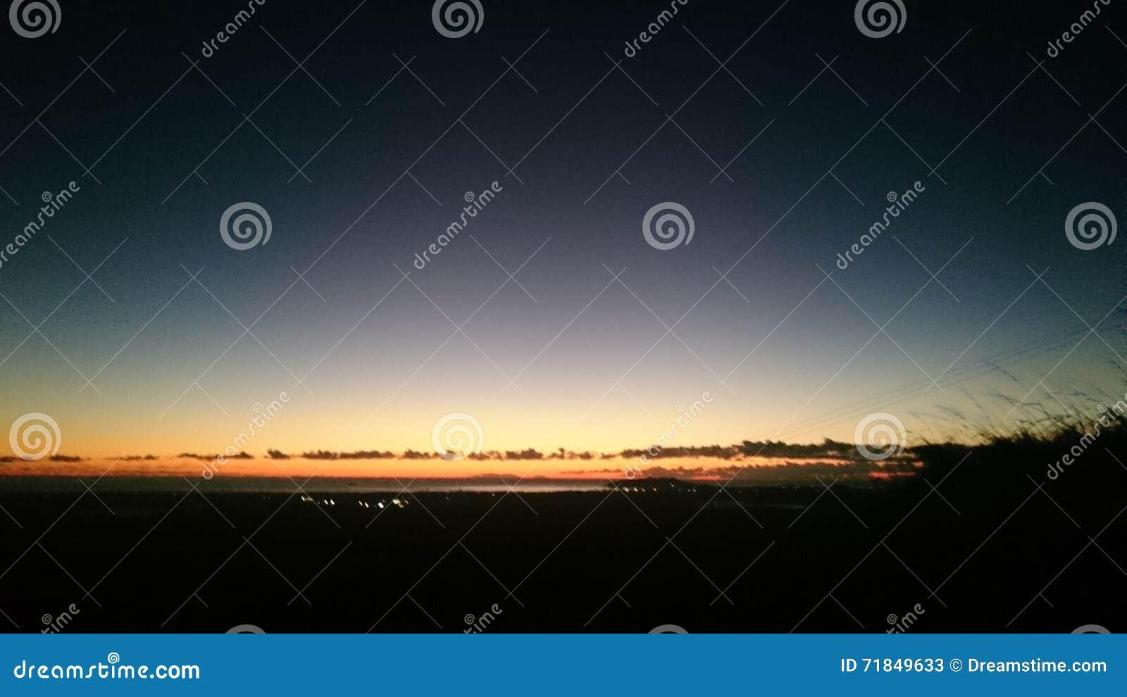Koude Dawn Over Byron Bay
