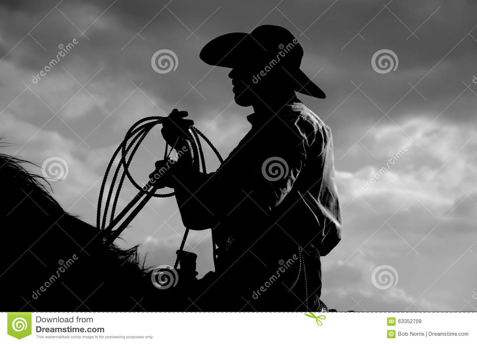 Kowboj Sihouette