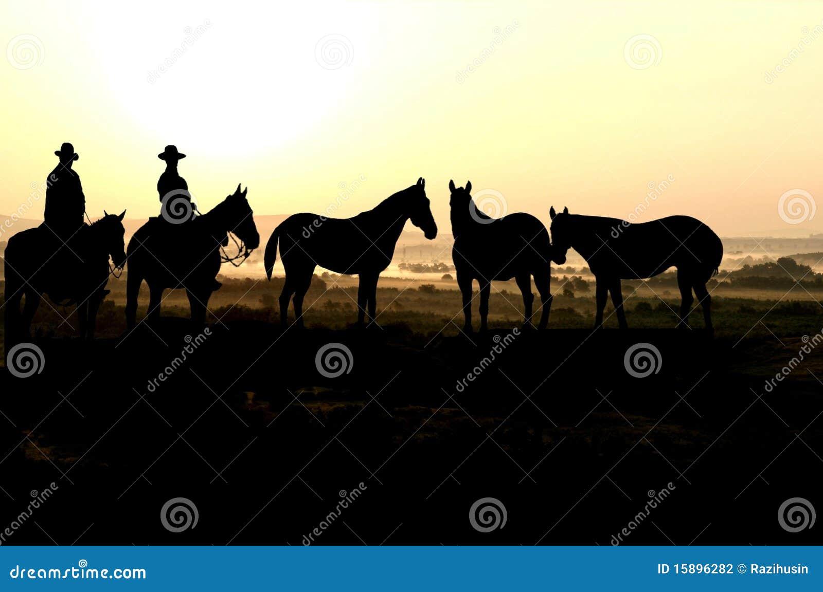 Kowboja zmierzch