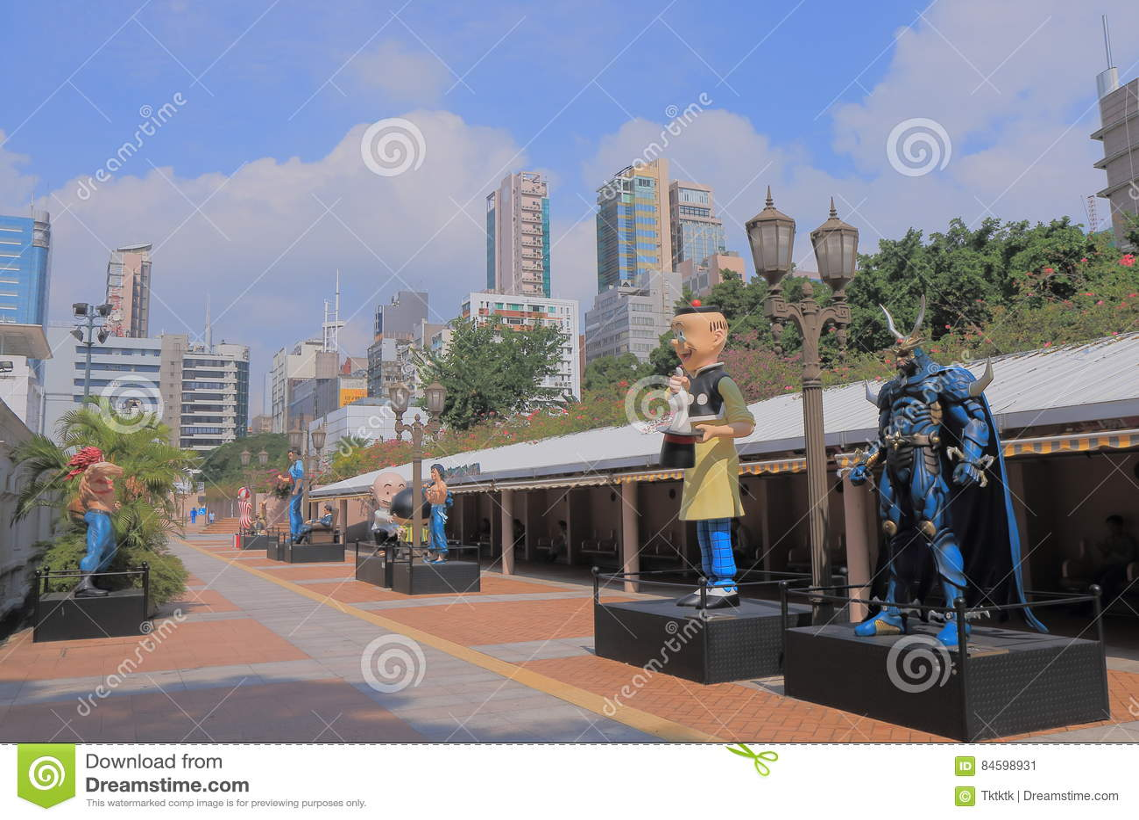 Kowloon Park Avenue komiczka Gra główna rolę Hong Kong
