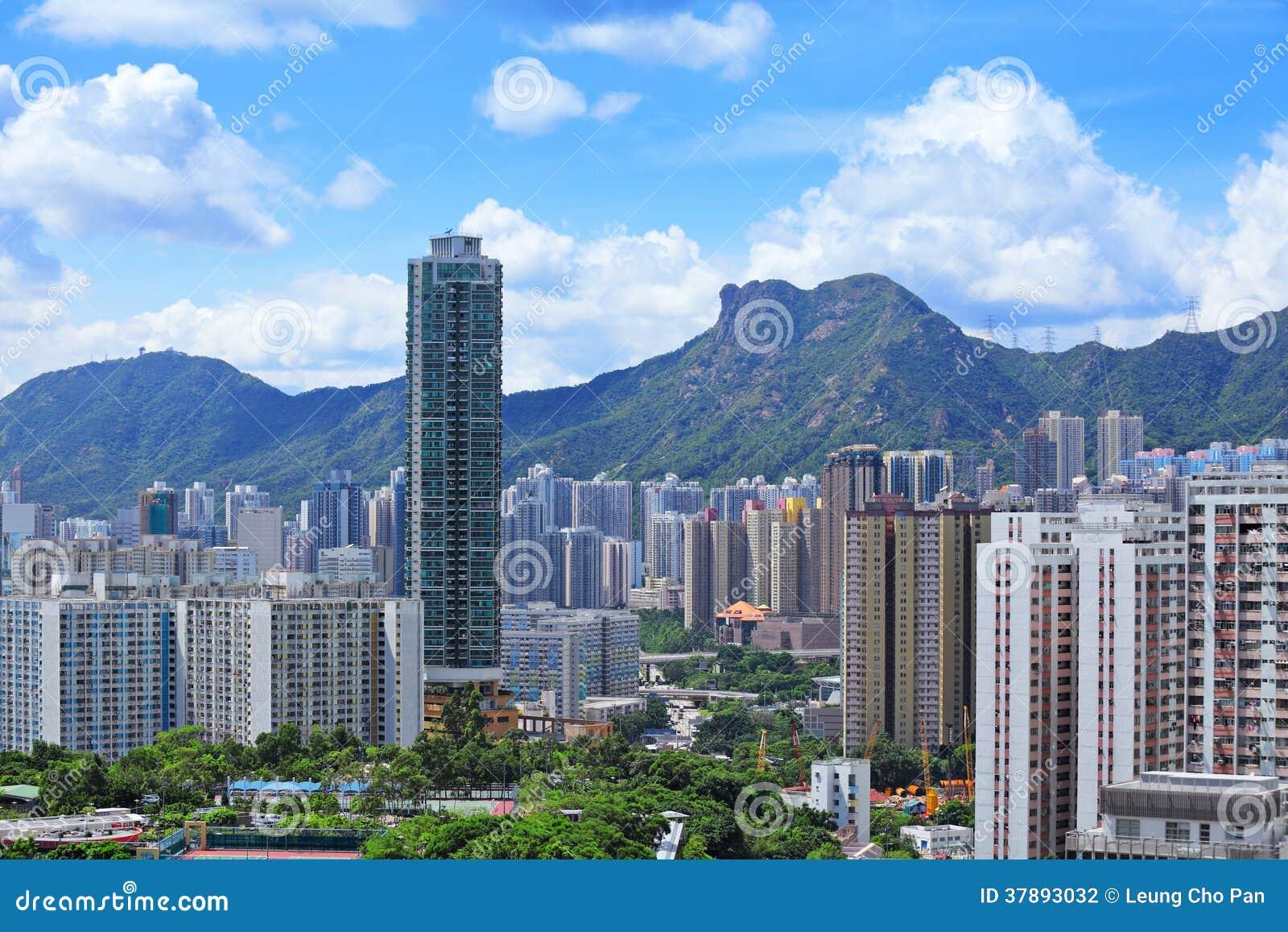 Kowloonkant in Hong Kong