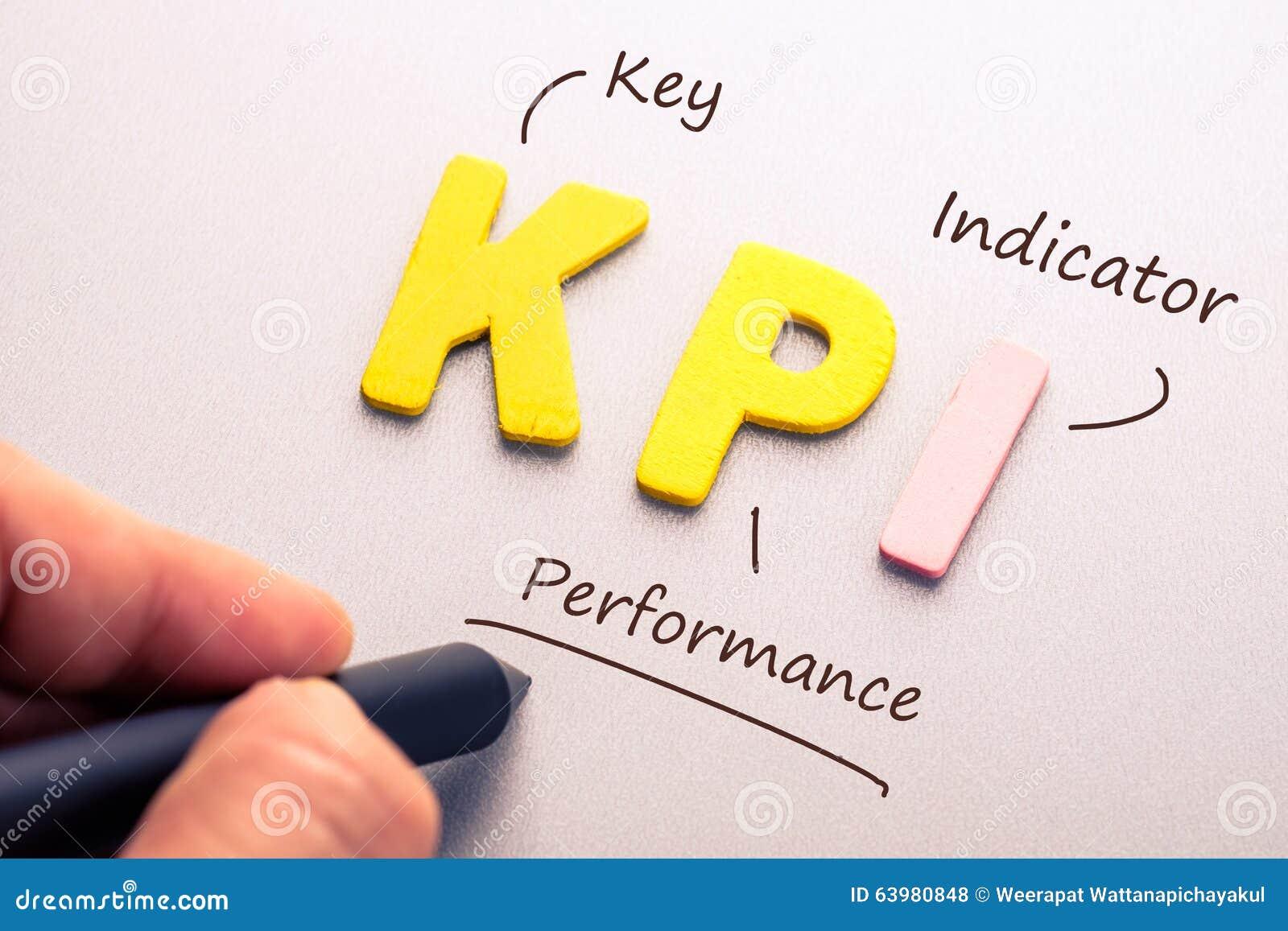 Kpi Stock Photo Image 63980848