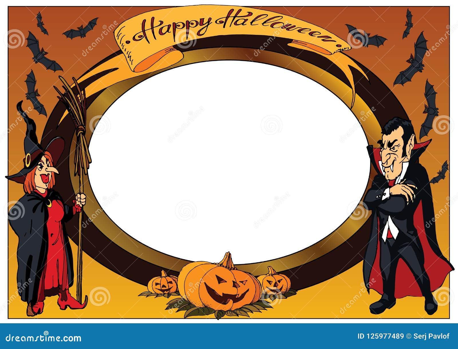 Kpugloe отверстия рамки предпосылки красивейшее черное сделало по образцу фото halloween счастливый