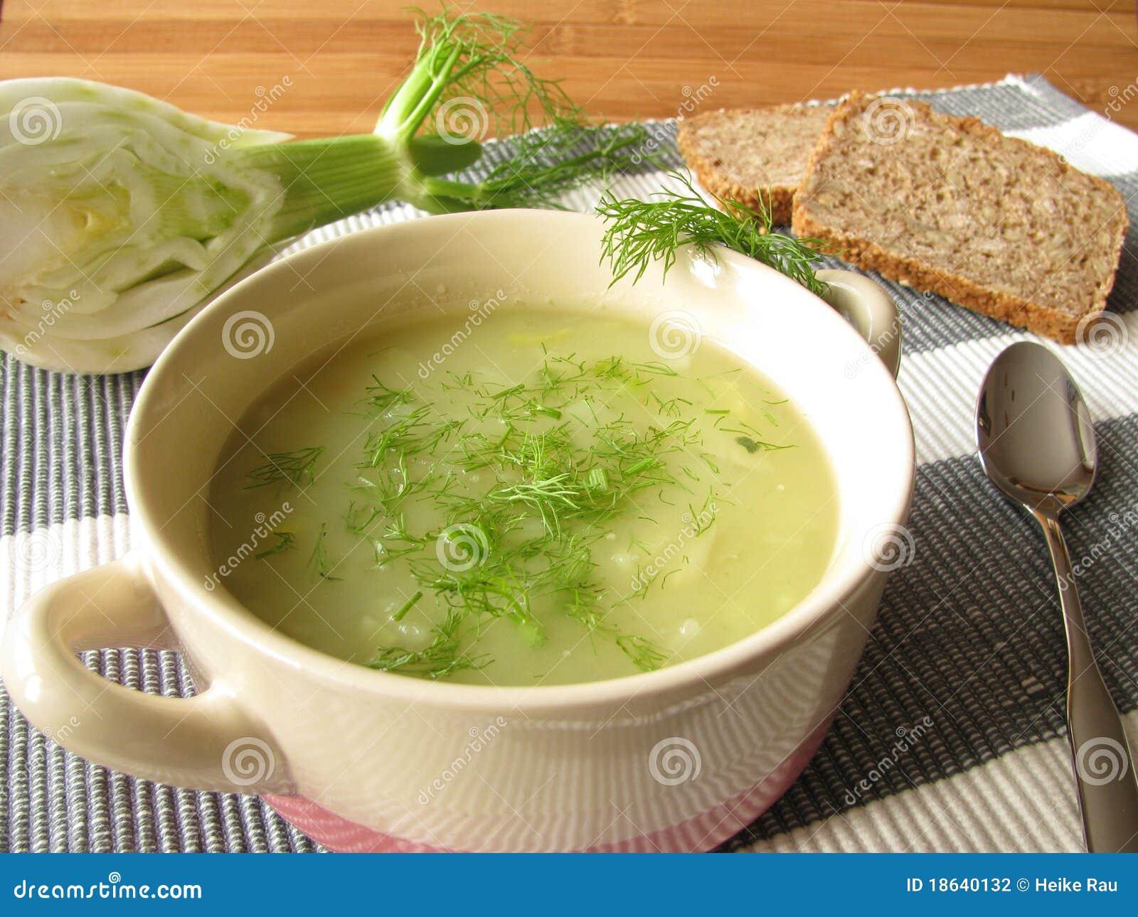Kräm- fennelsoup