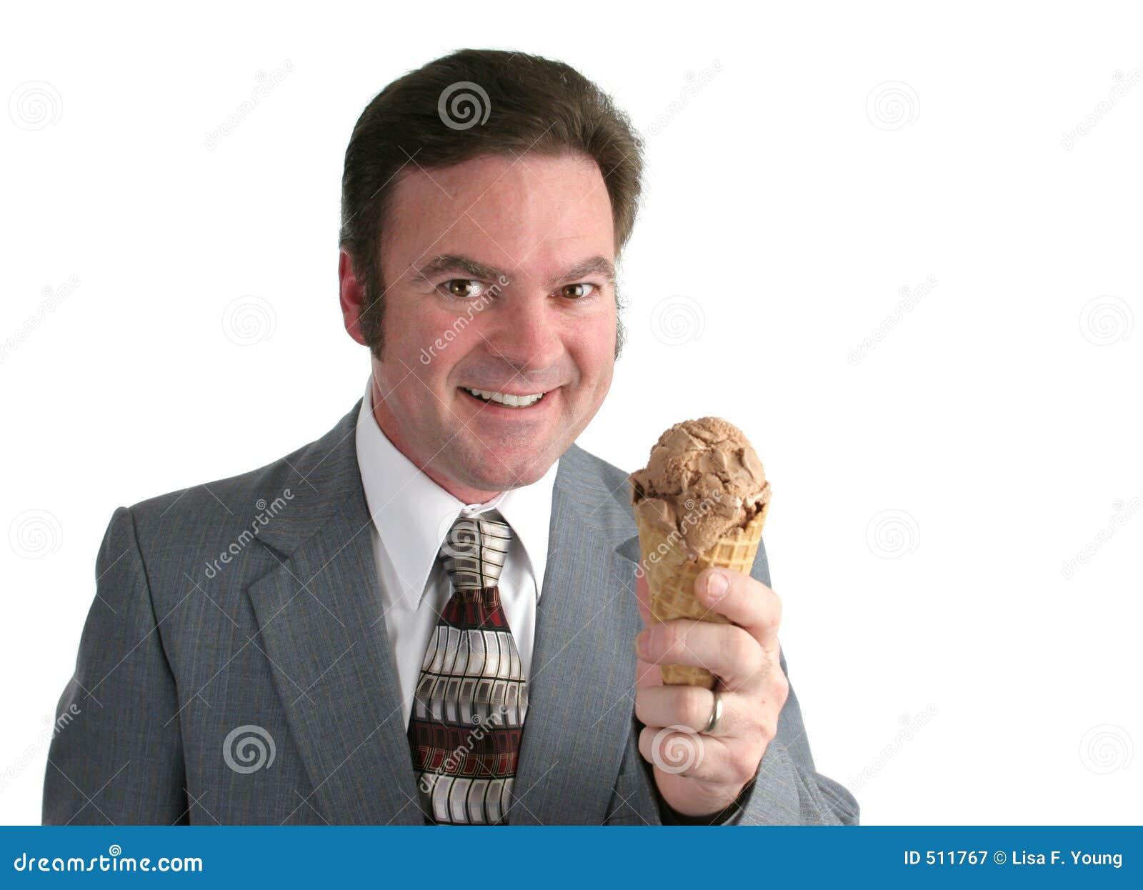 Kräm- ivrig is för affärsman