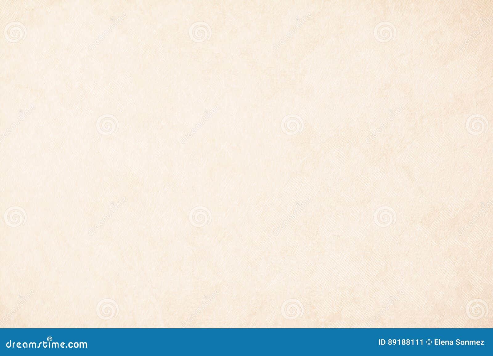 Kräm- texturbakgrundspapper i beige tappningfärg, pergamentpapper, abstrakt pastellfärgad guld- lutning med brunt som är fast