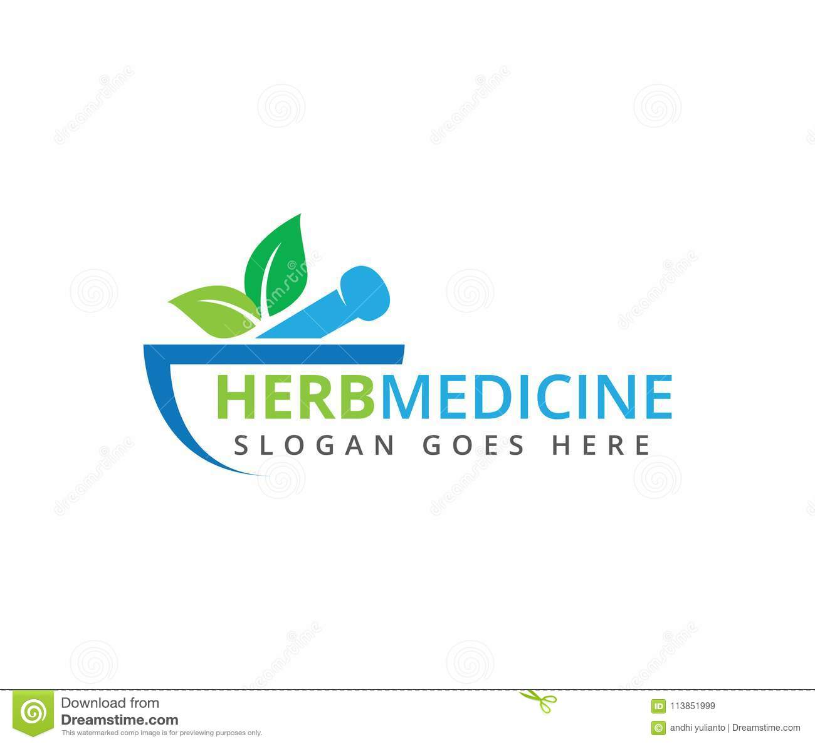Kräutermedizinklinikvektor-Logodesign der ärztlichen Behandlung der apotheke