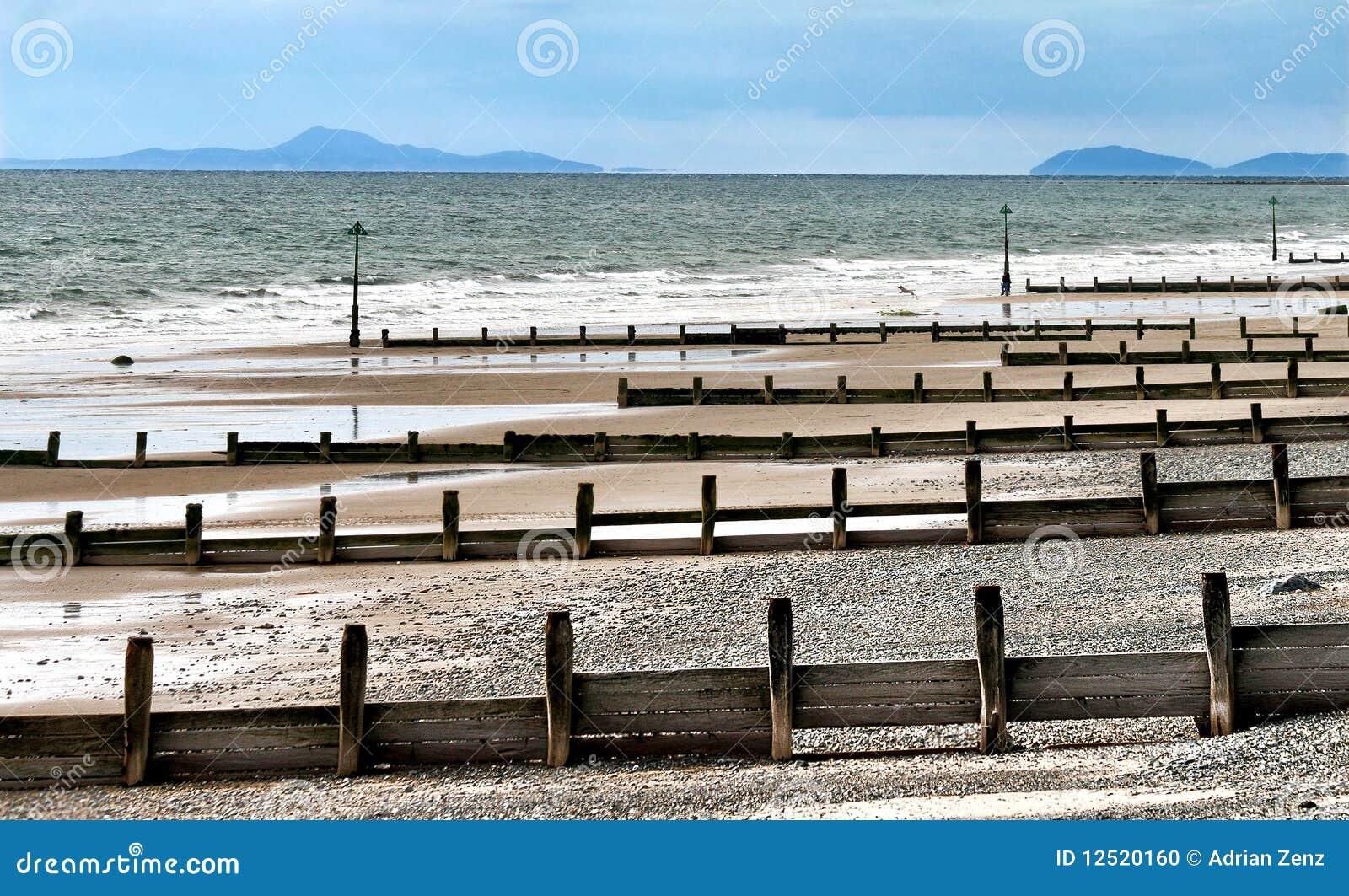 Królestwa północny seashore tywyn zlany Wales