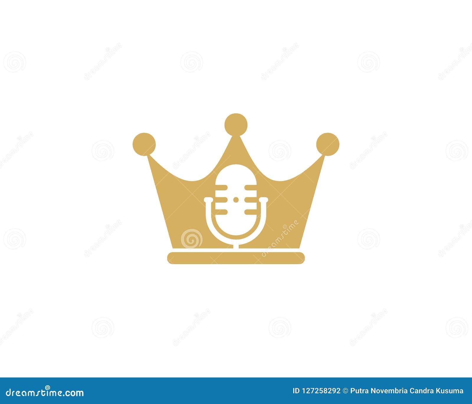 Królewiątka Podcast loga ikony projekt