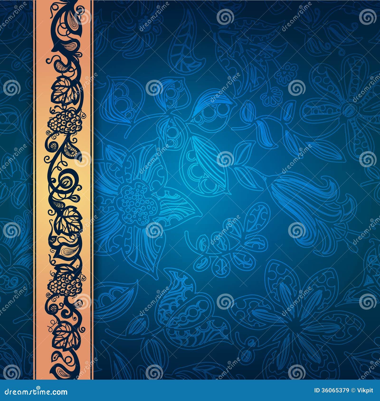 Królewski koronkowy dekoracyjny wzór abstrakcjonistyczny composit