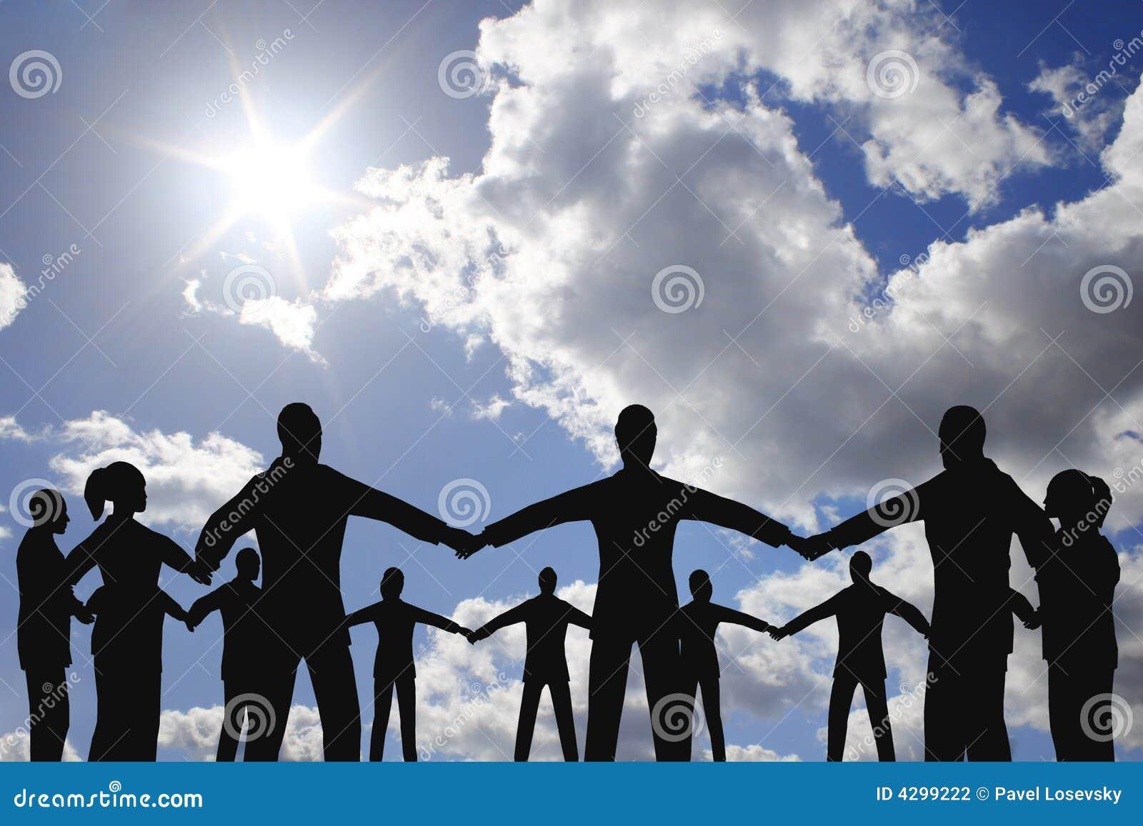Krąg grup osób