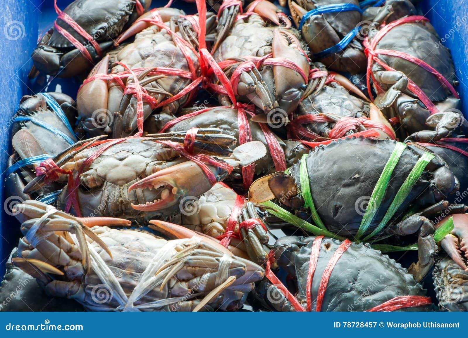 Krabba i marknad