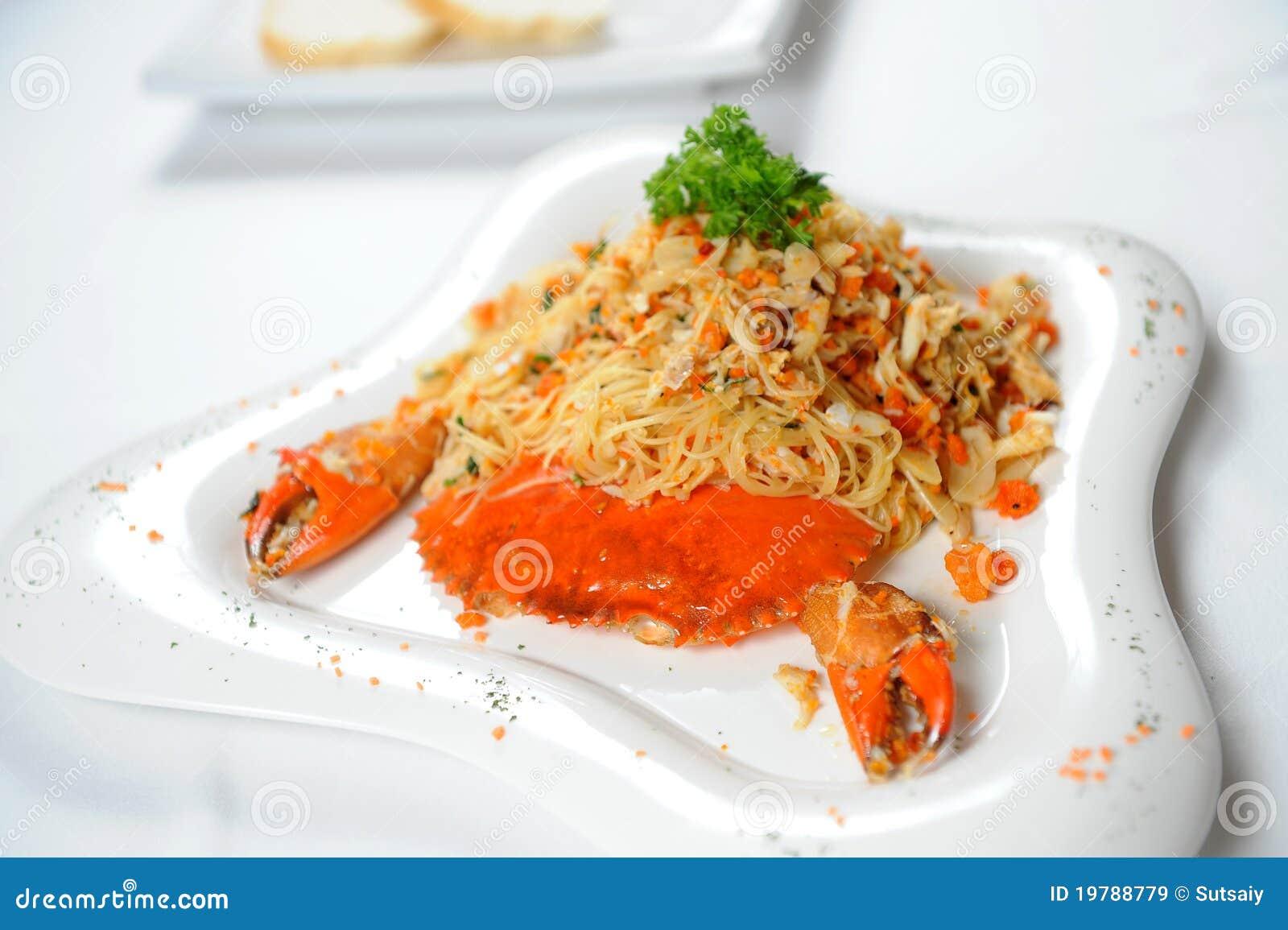 Krabbathaifood