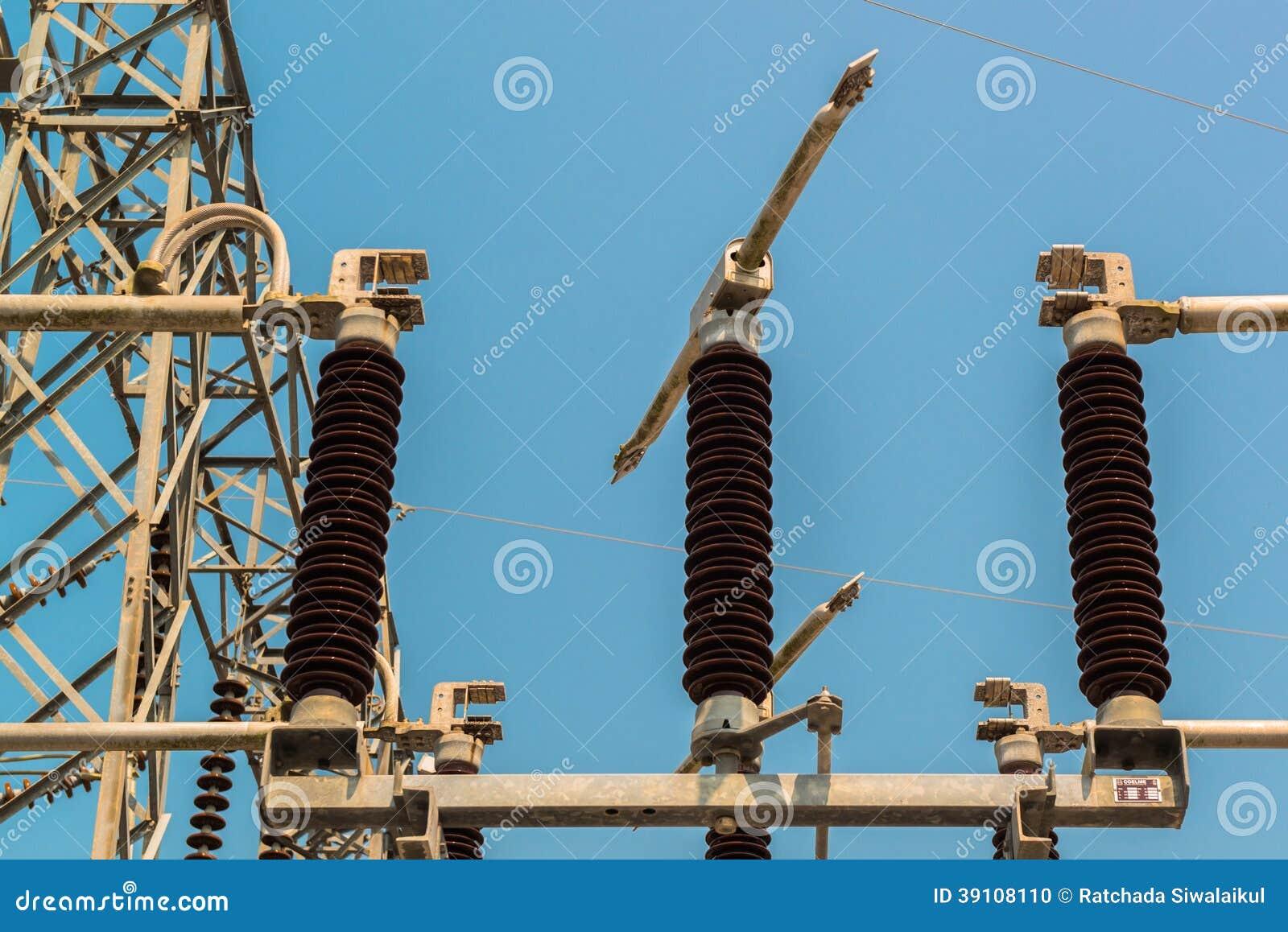 Krachtcentrale voor het maken van elektriciteit