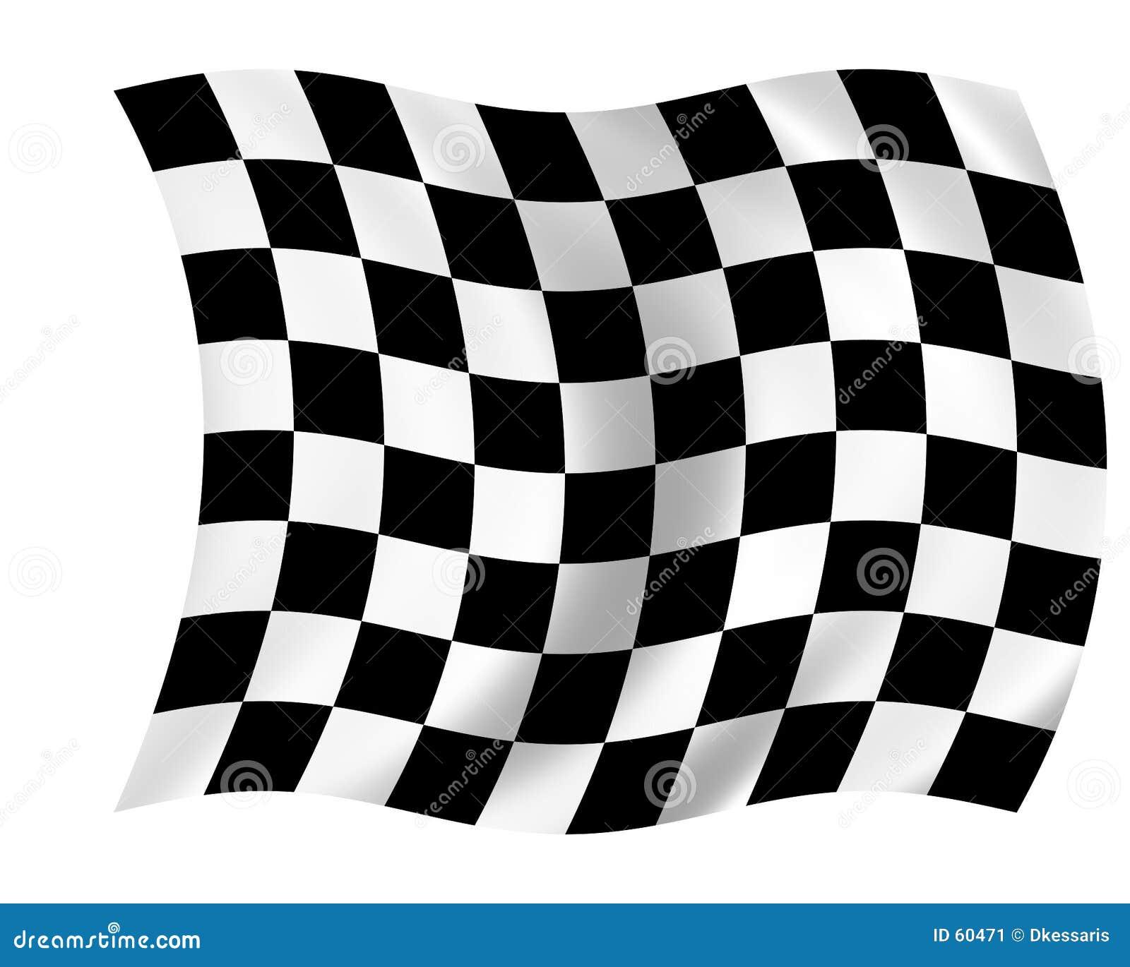 Kraciaste flagę