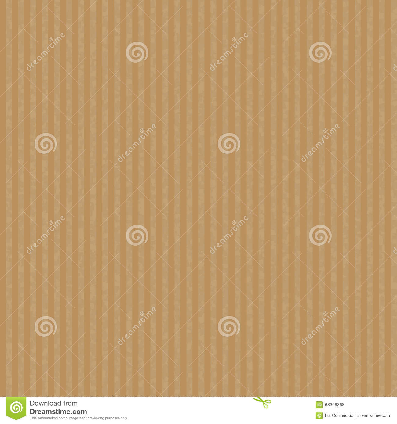 Kraft Recycled Paper Texture Vector. Stock Vector ...