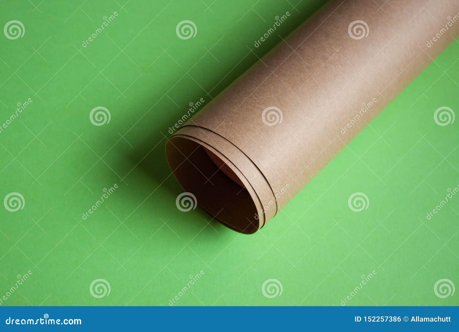 Kraftpapier-document broodje