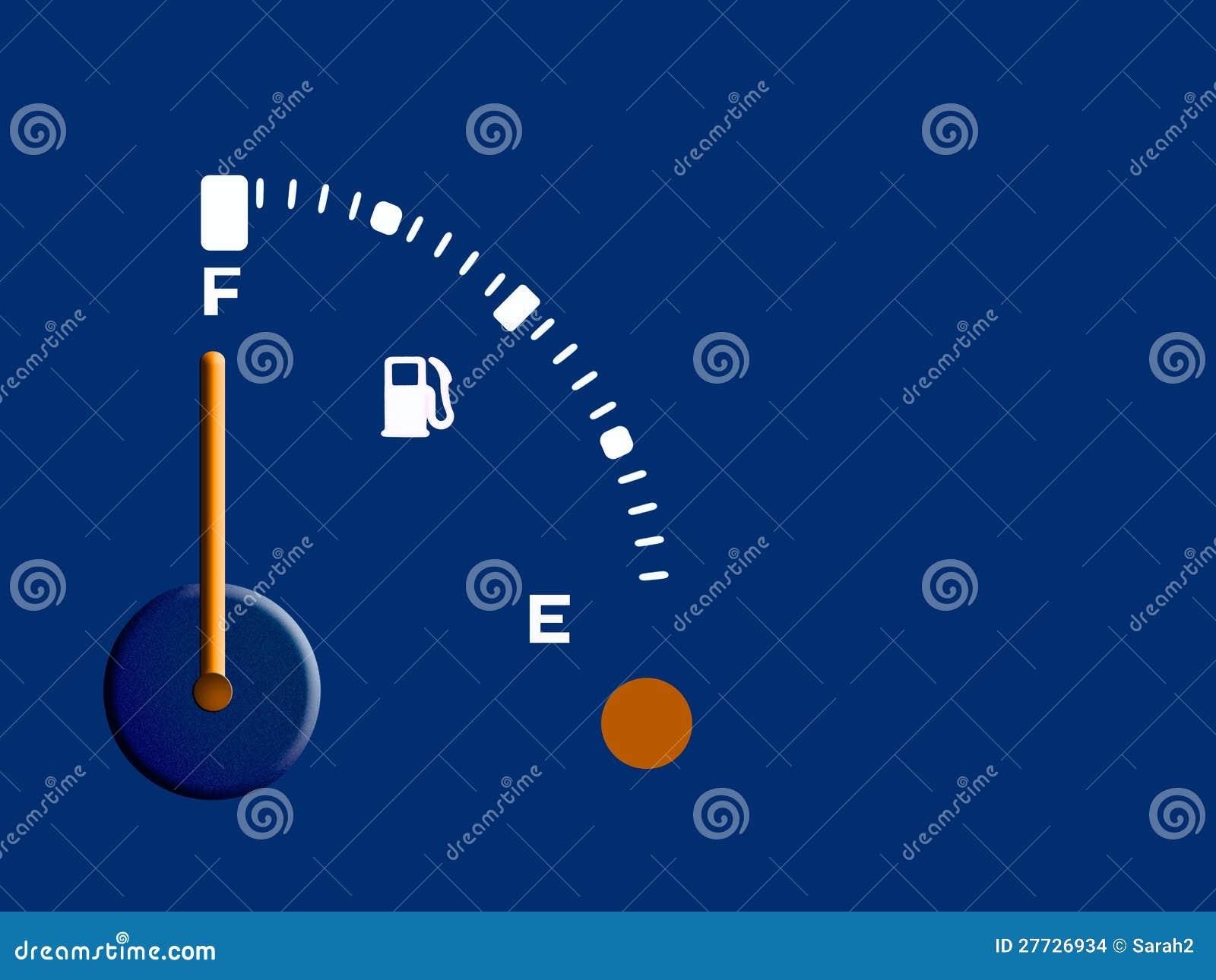 Kraftstoff, Treibstoff, Diesellehre - voll, Hintergrund