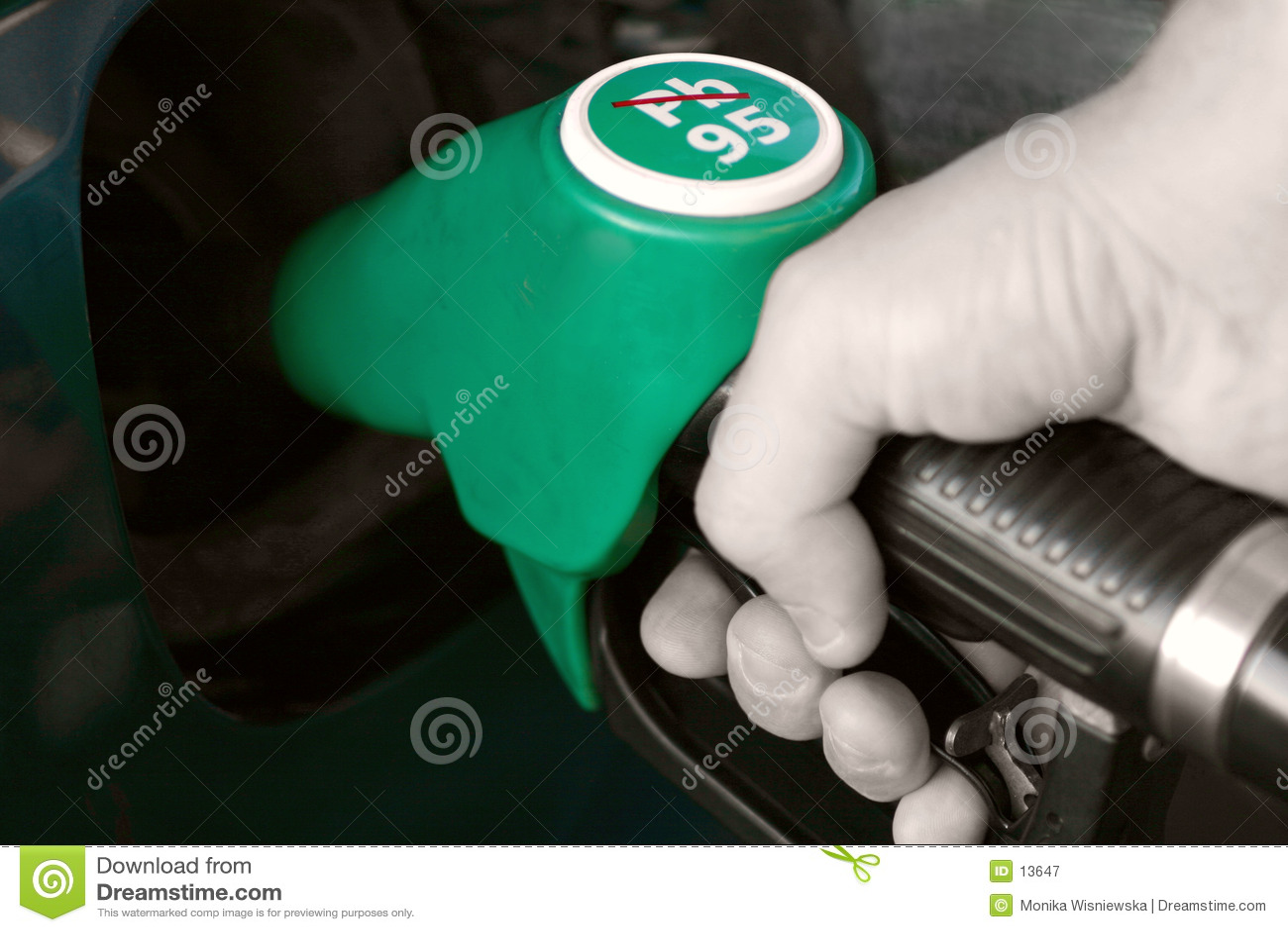 Kraftstoffpumpe-Hand
