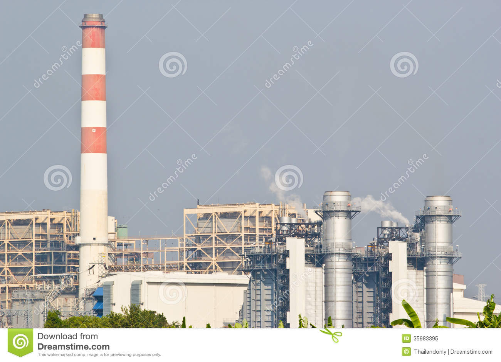 Kraftverk för kombinerad cirkulering för naturgas