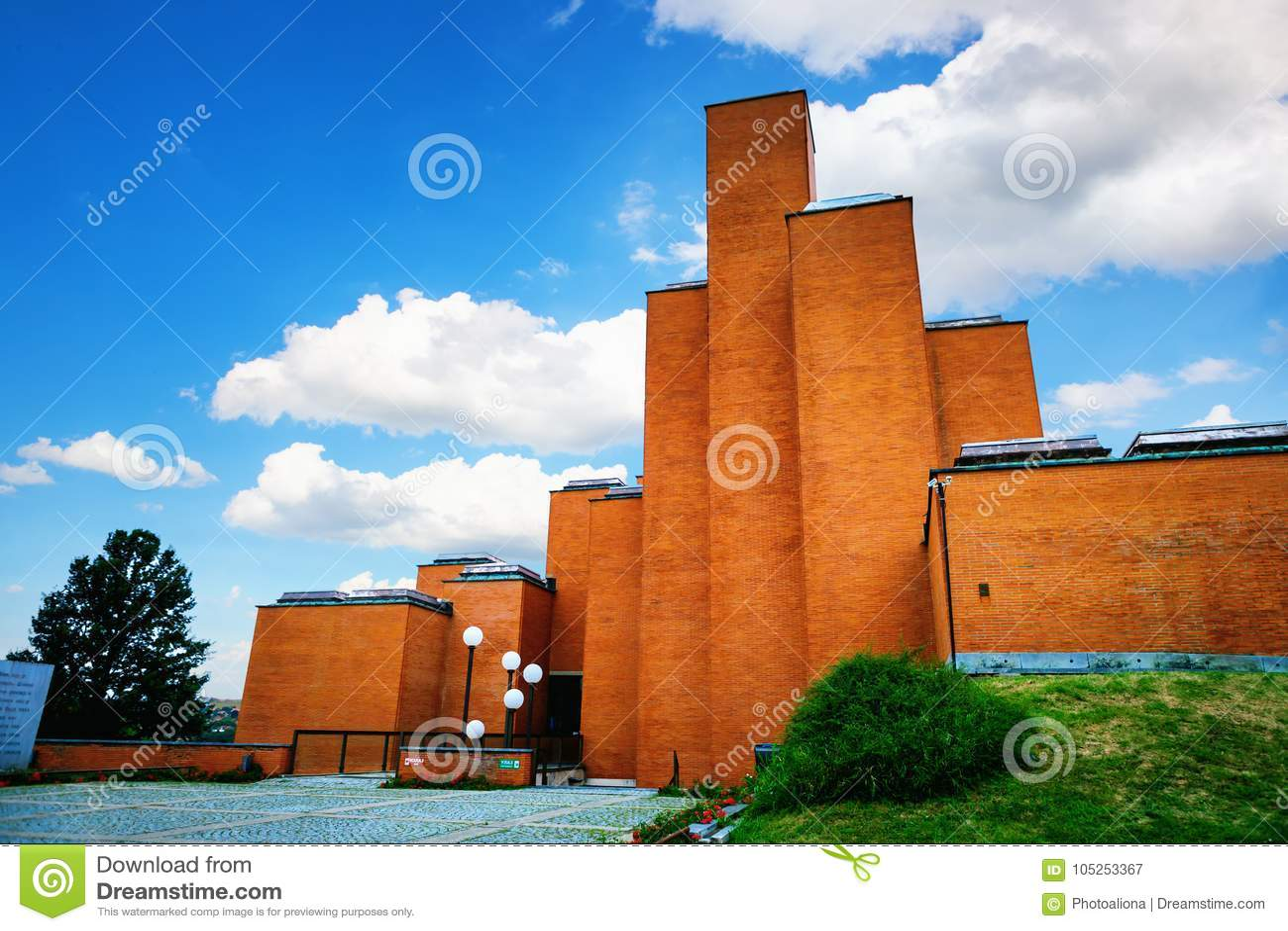 Kragujevac, Serbie - 17 juillet 2016 : Musée et parc commémoratifs 21 octobre dans Kragujevac, Serbie