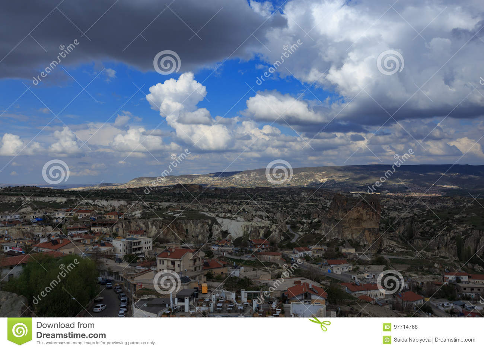 Krajobraz Cappadocia
