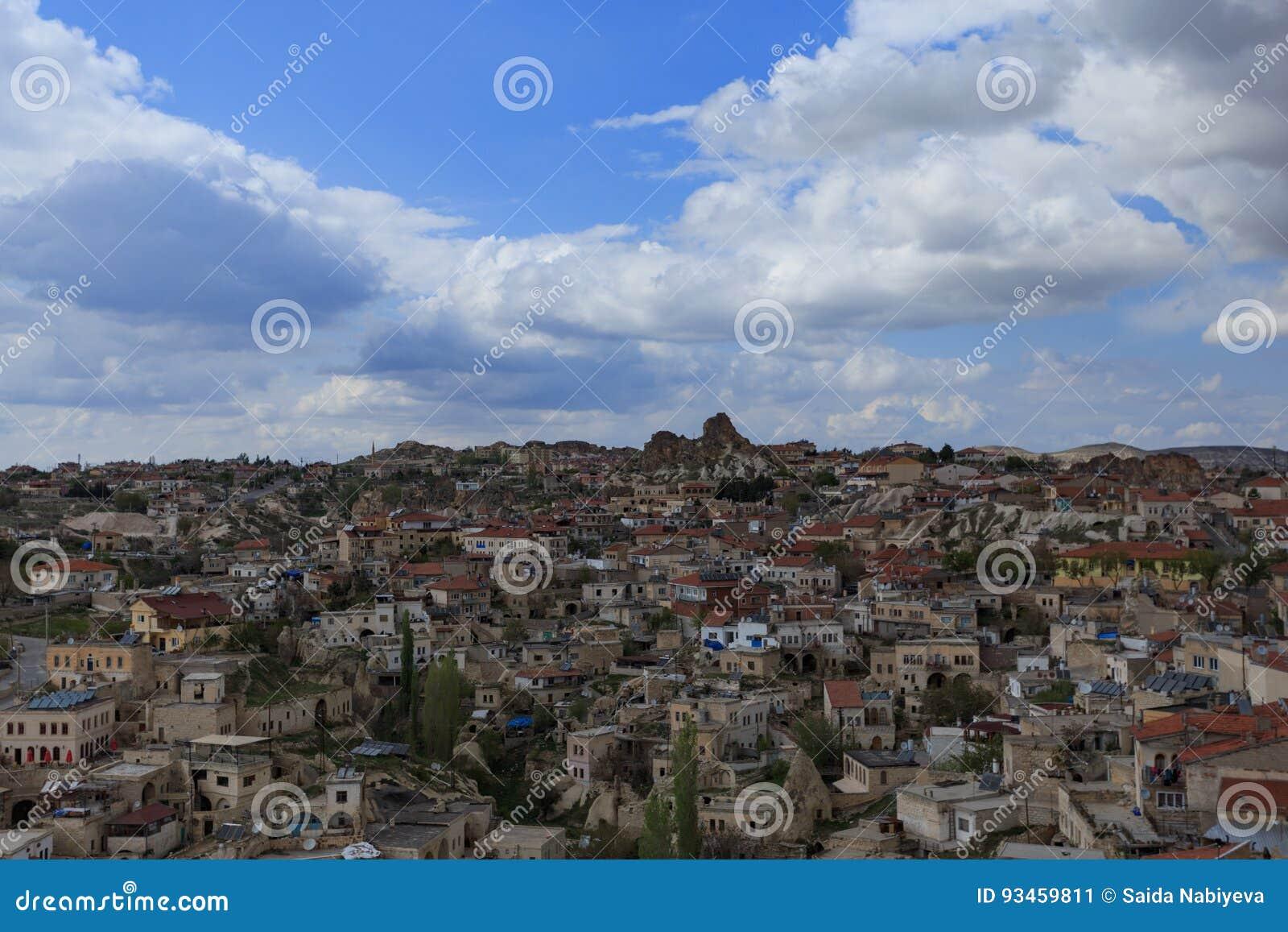Krajobraz Cappadocia l