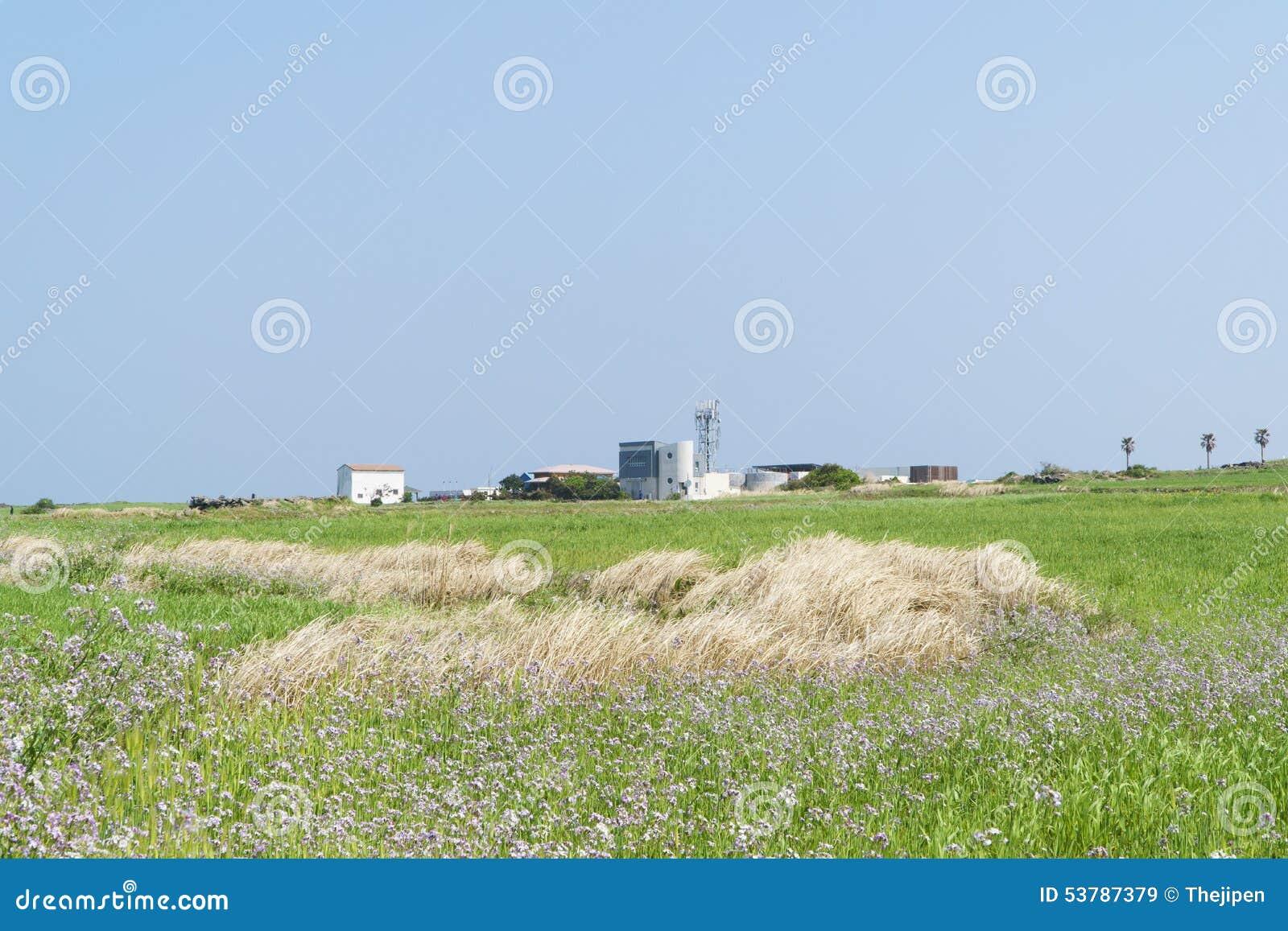 Krajobraz Gapado wioska