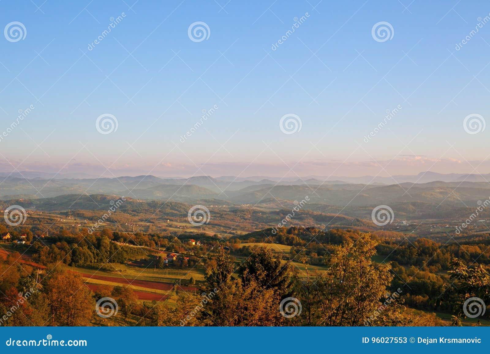 Krajobraz Serbia