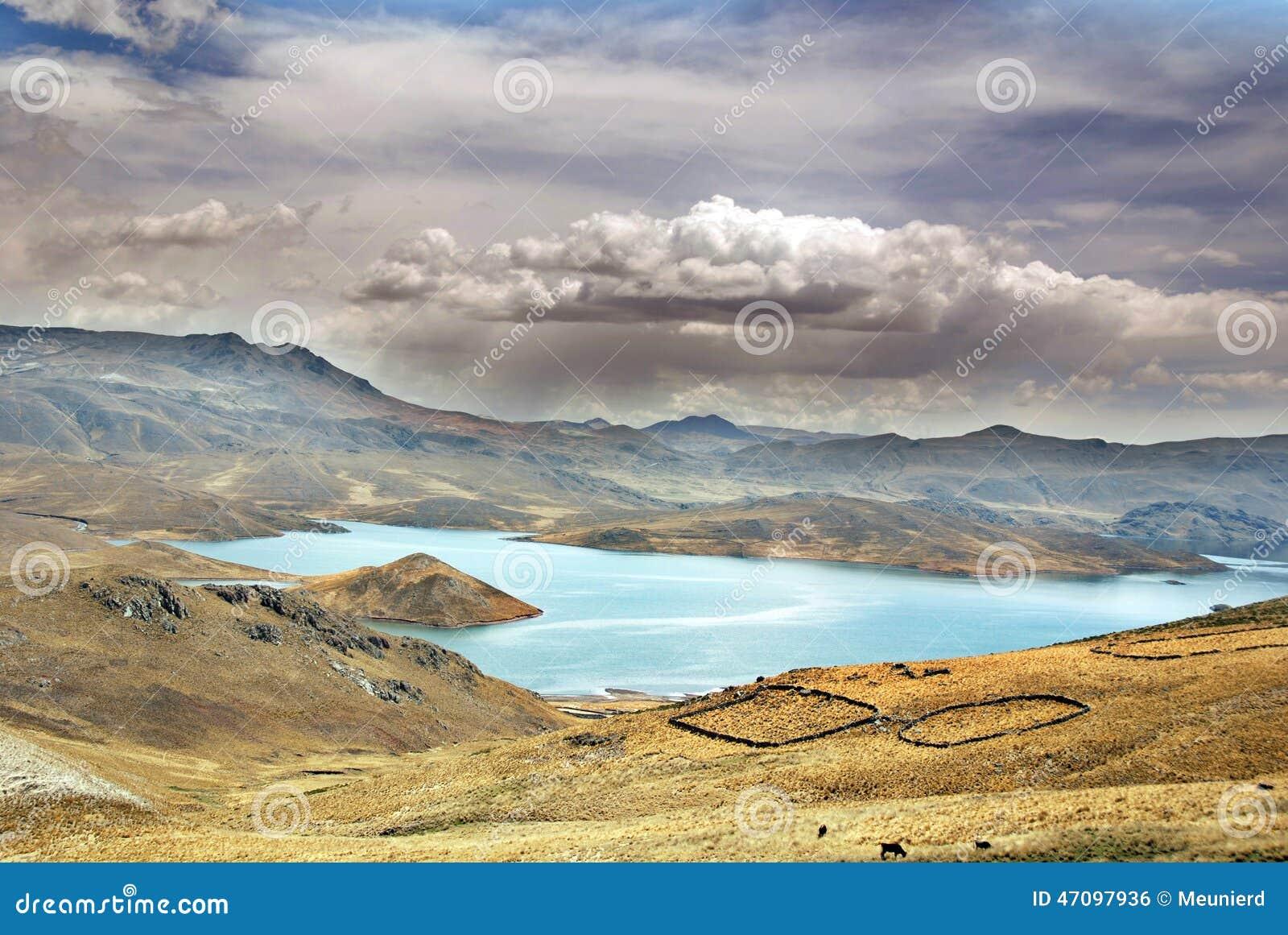 Krajobraz w Peru