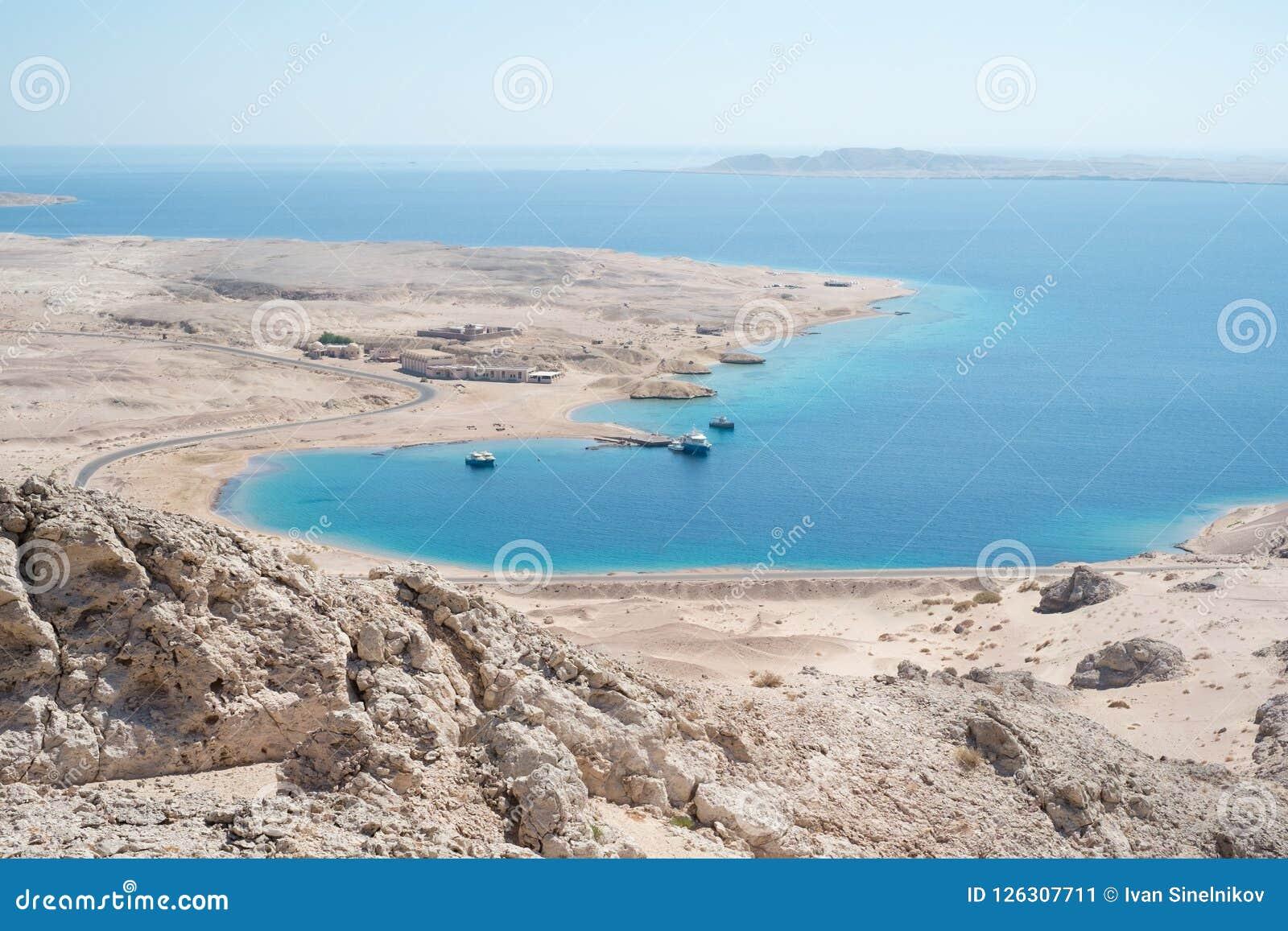 Krajobraz w Rasa Mohammed parku narodowym