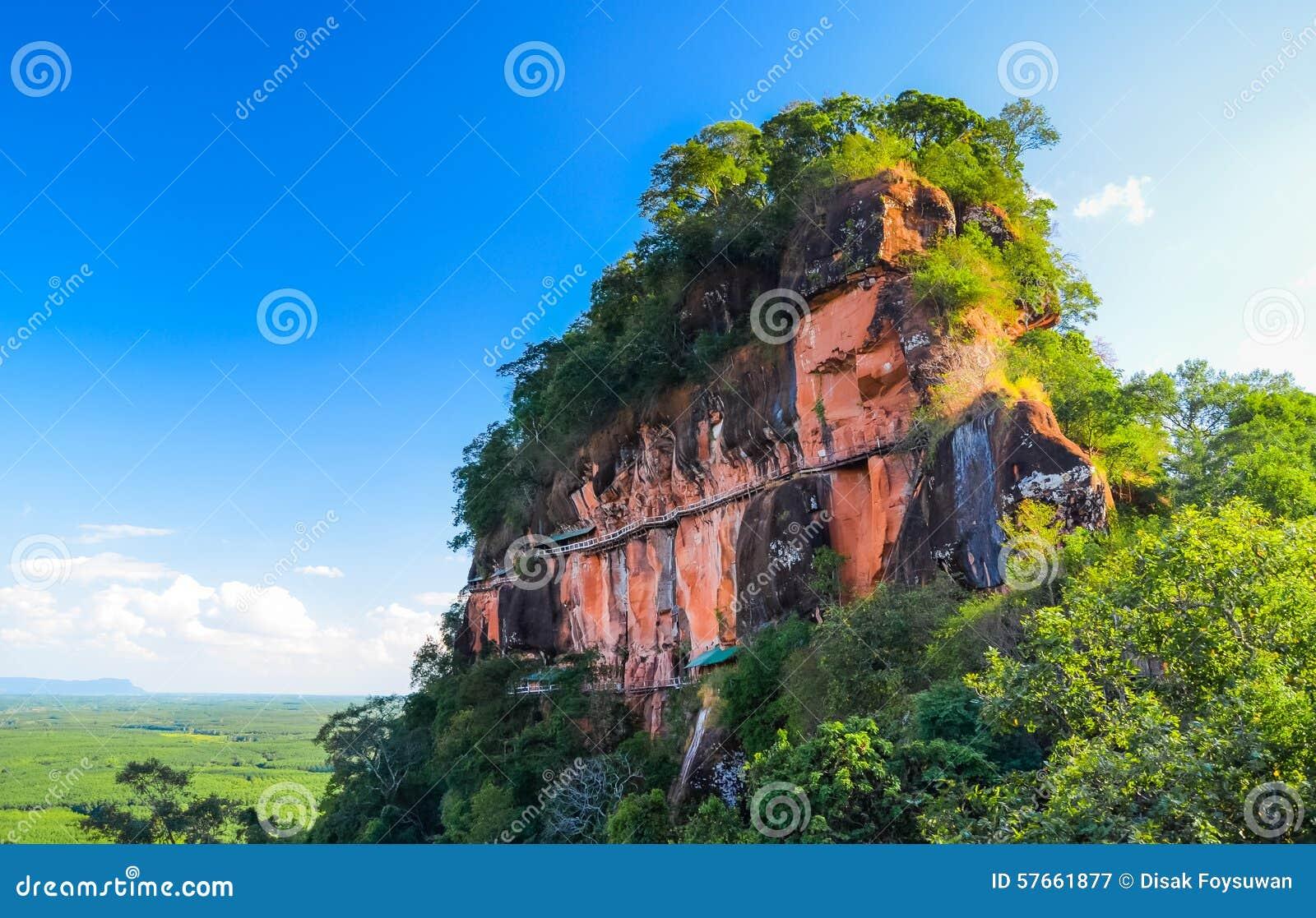 Krajobrazowa góra w Tajlandia