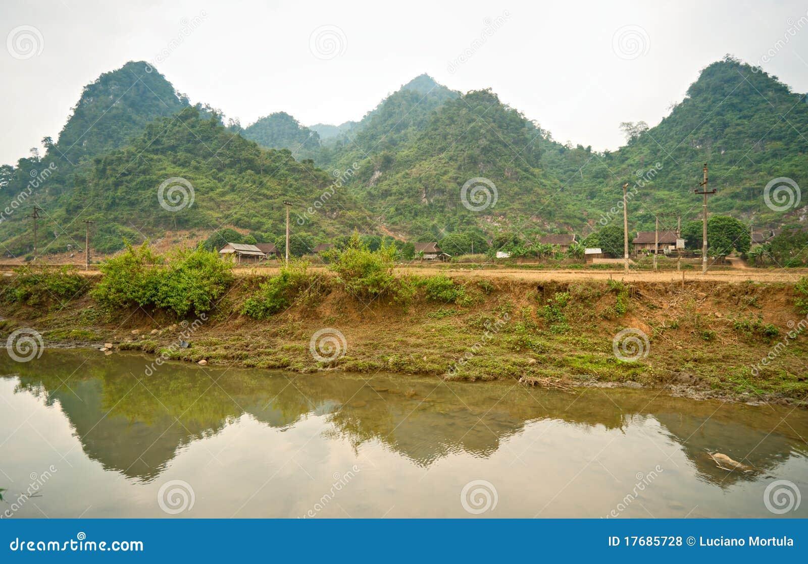 Krajobrazowy północny wietnamczyk