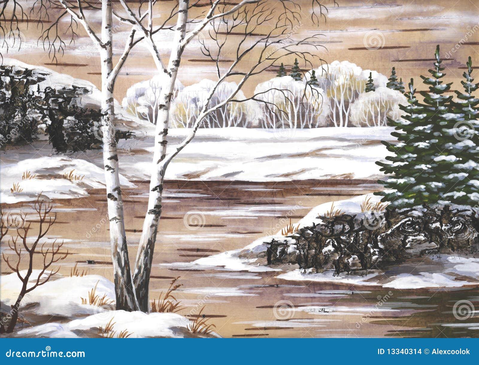 Krajobrazowy rosjanin