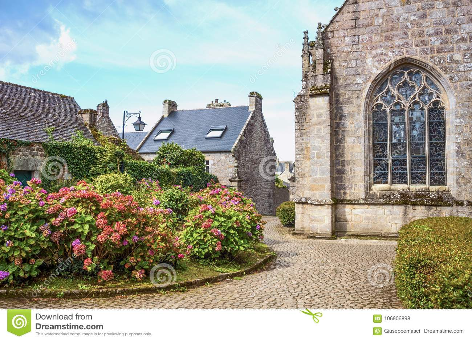 Krajobrazy i architektury Brittany