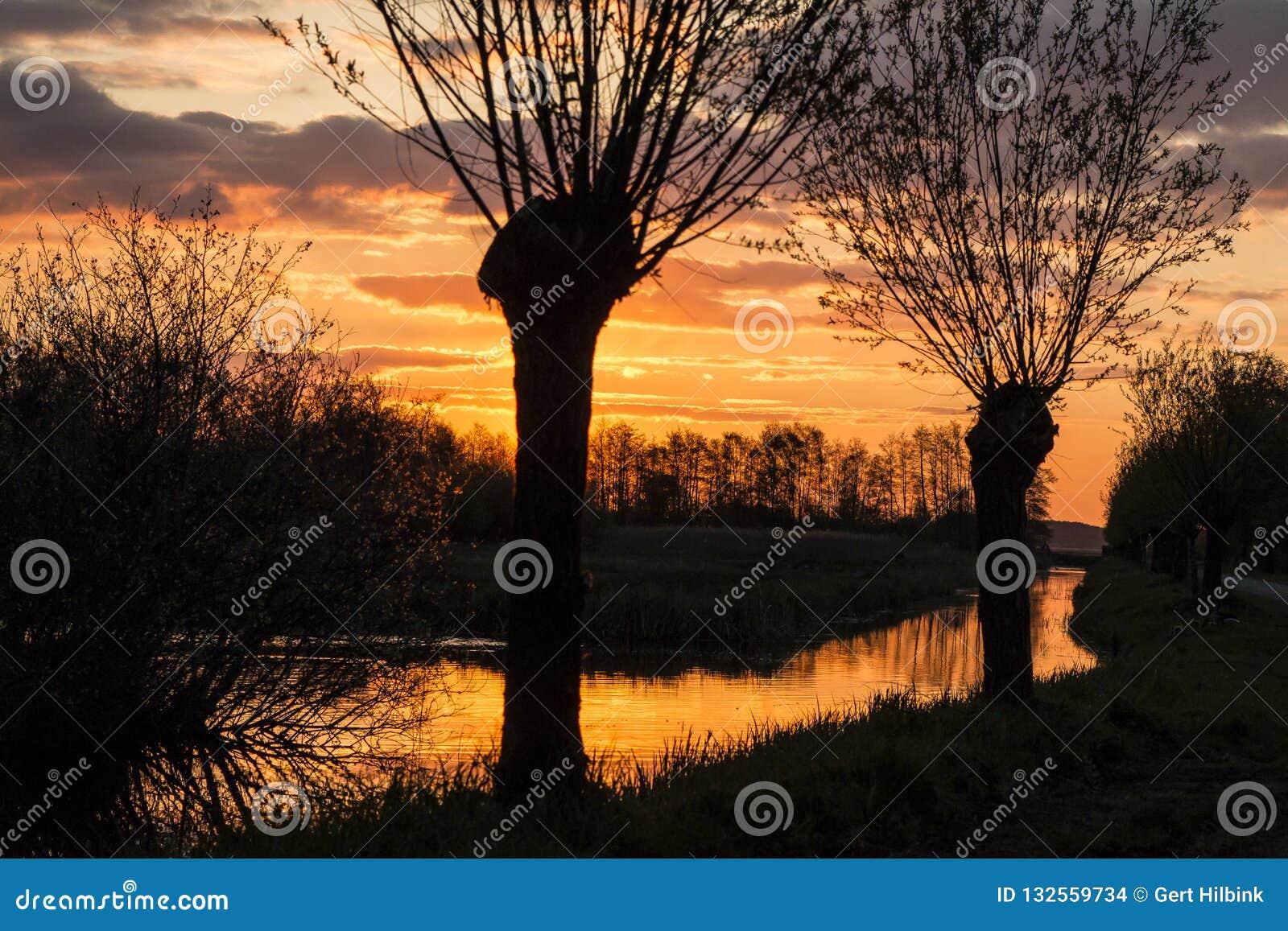 Krajobrazy w holandiach, holenderów krajobrazy