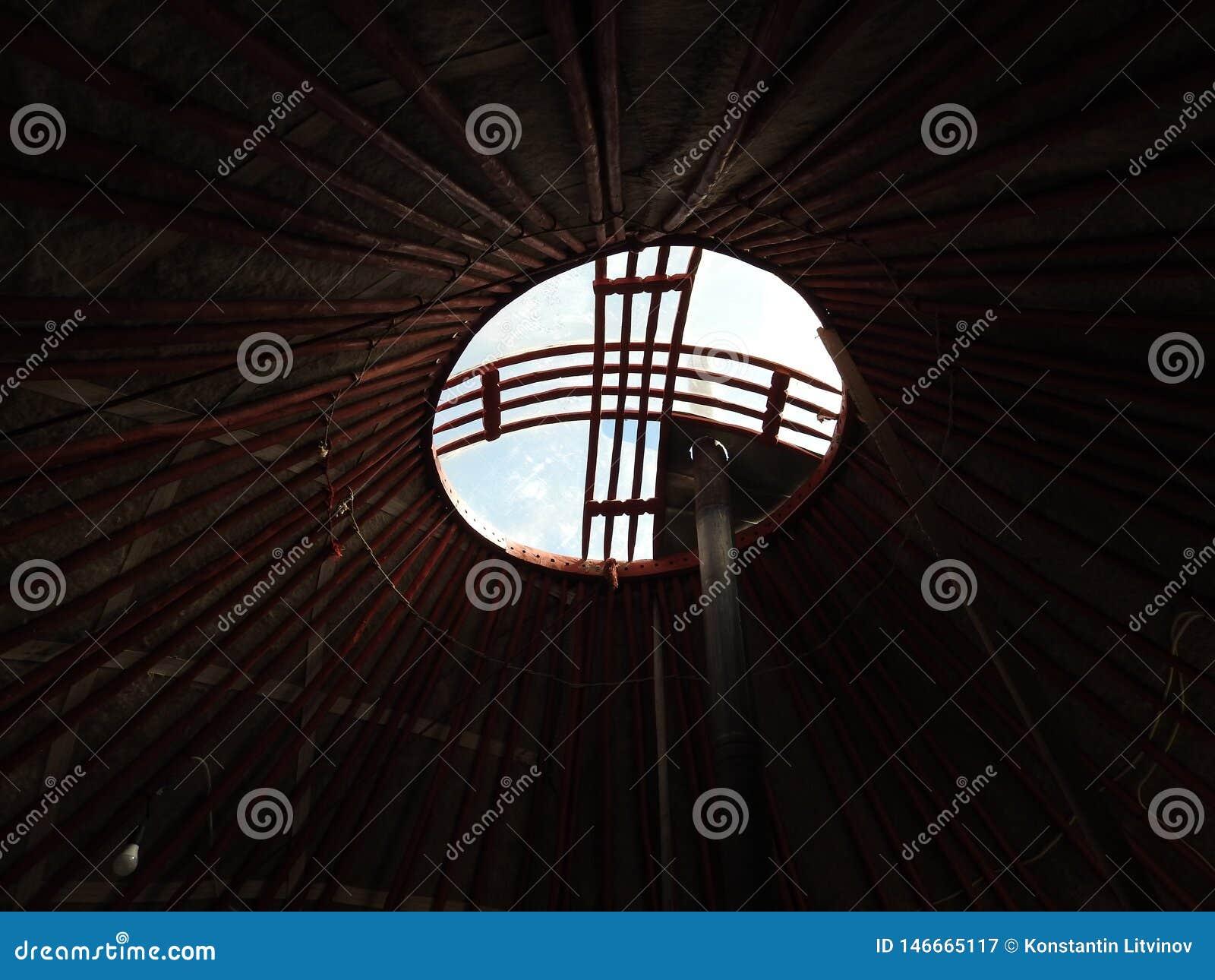Krajowa tradycyjna dekoracja ?ciany Mongolska jurta i sufit Rocznik wyplata wzory Dekoracja jurta