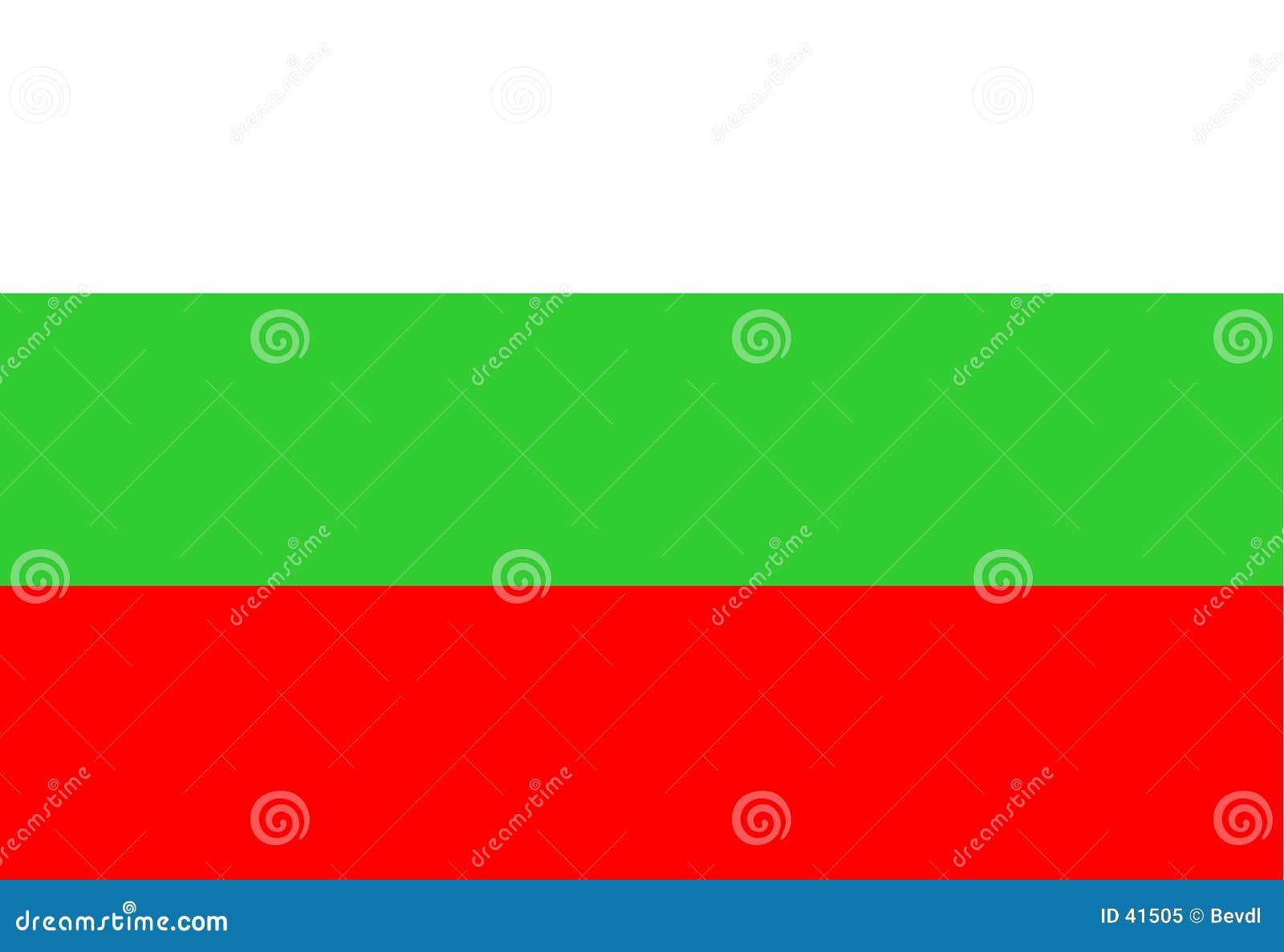 Krajowe bulgari flagę