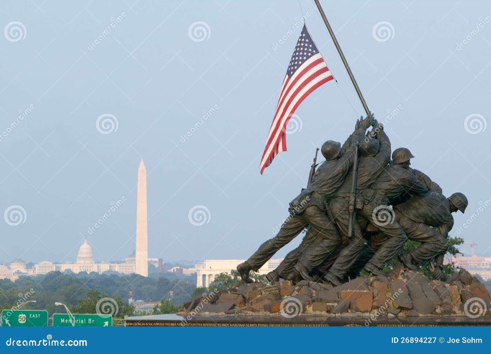 Krajowy Iwo Jima Wojny Pomnik