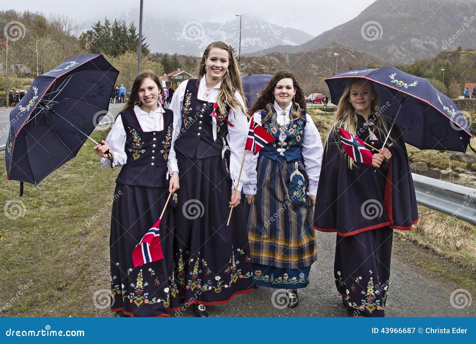 Krajowy kostium Lofoten