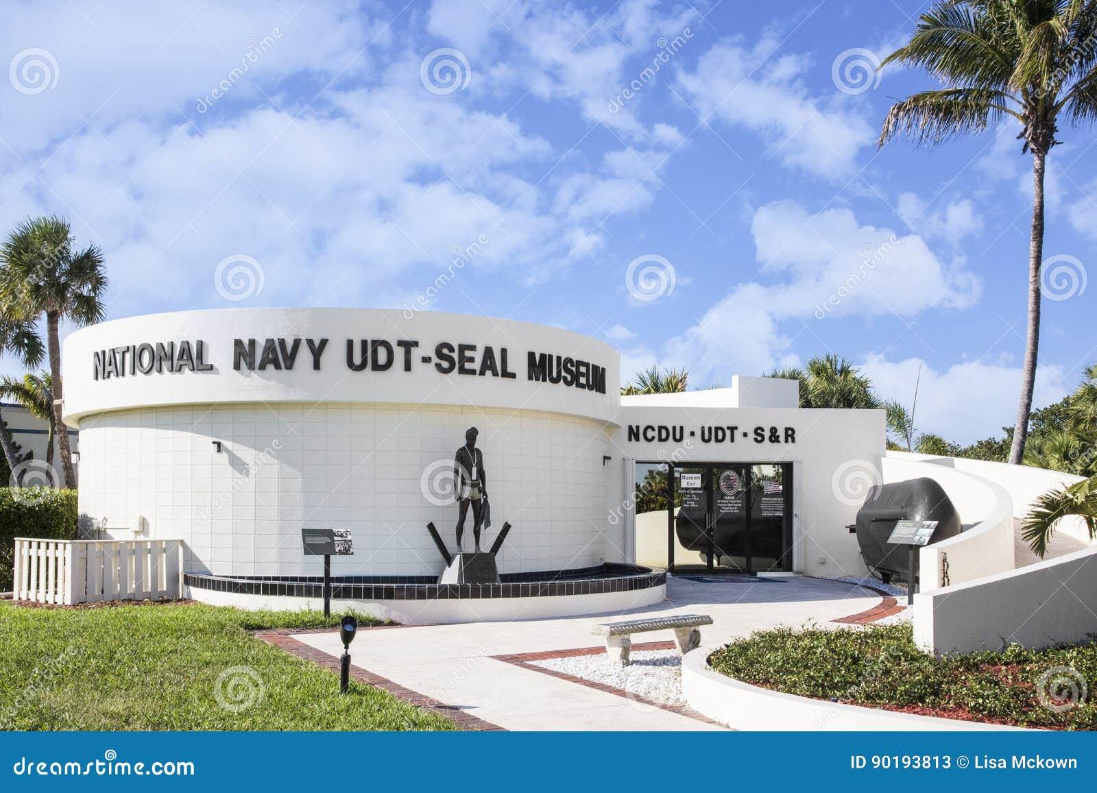 Krajowy marynarki wojennej UDT-SEAL muzeum