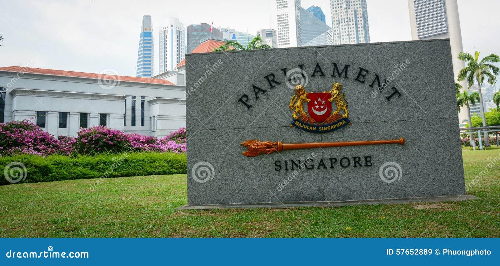 Krajowy Singapur emblemat