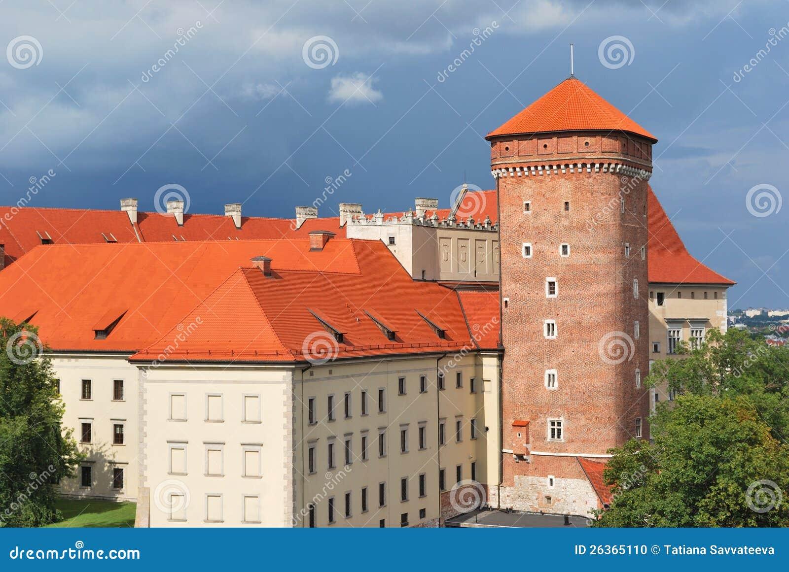 Krakau. Alte Stadt vor dem Sturm