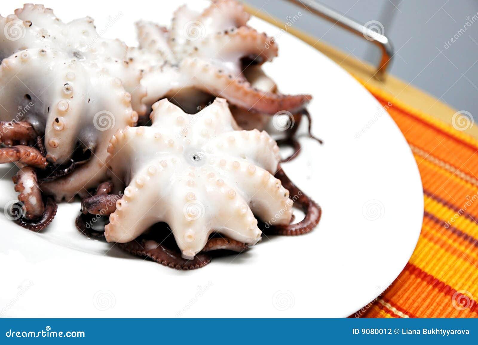 Kraken auf Platte.