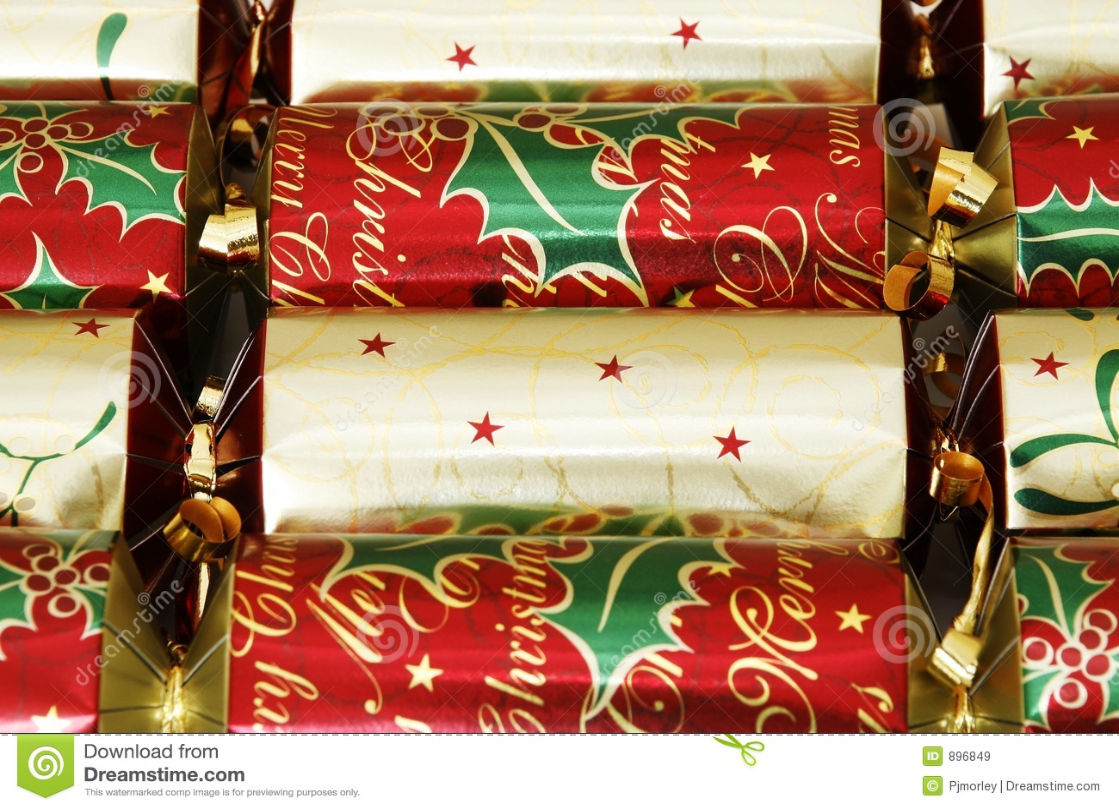 Krakersy świąteczne
